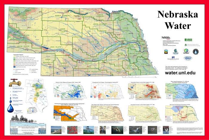 nebraska water map nebraska water center nebraska