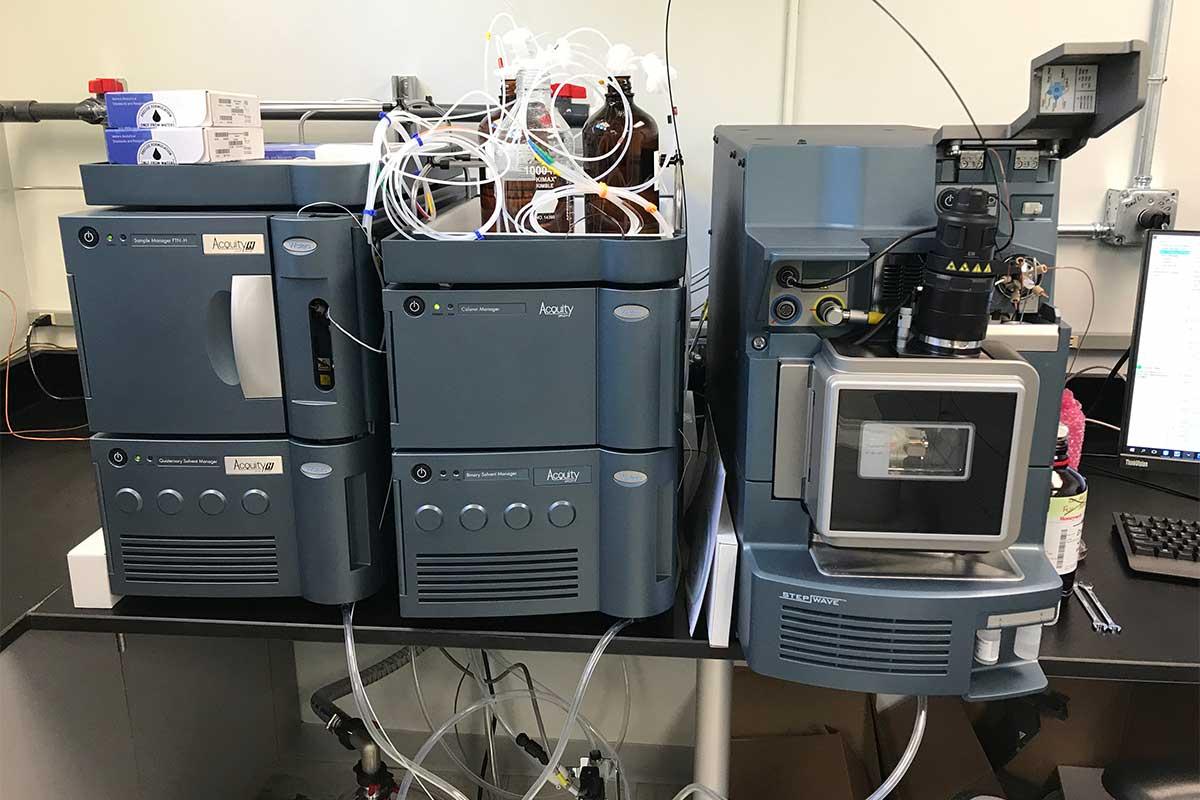 Xevo TQS mass spectrometer