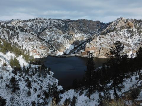 Seminoe Dam Photo