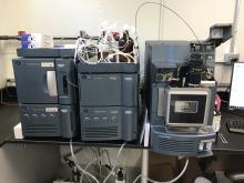 equipment at laboratory